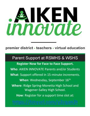 Aiken Innovate Support