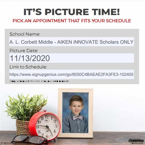 Picture Day Sign Up