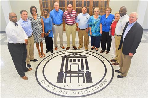 School District Community Officials Visit LMMS