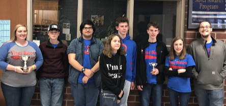 Academic Team Places Second in Cavalier Challenge