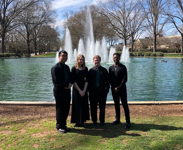 Schofield and Aiken High Students at All-State Band