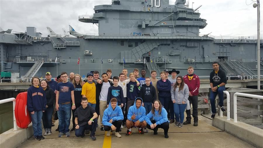 NJROTC Travels to Charleston