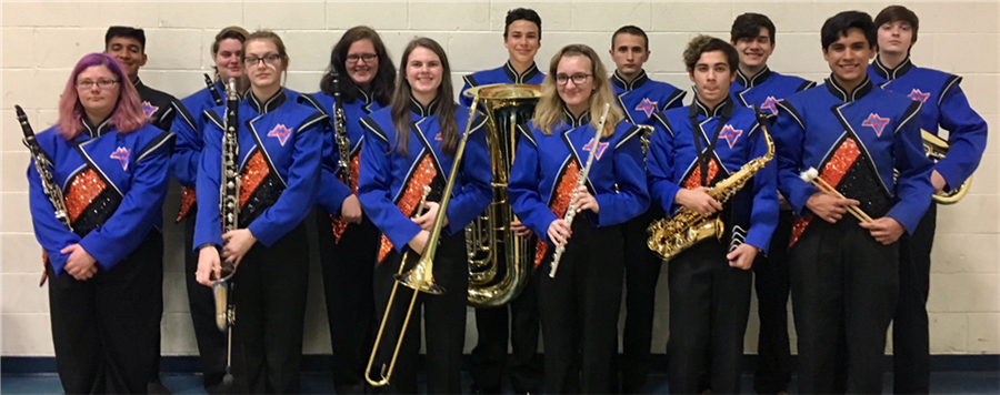 Band Members Selected for All County Honors
