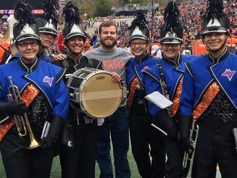 MVHS Students Performed with Clemson Band