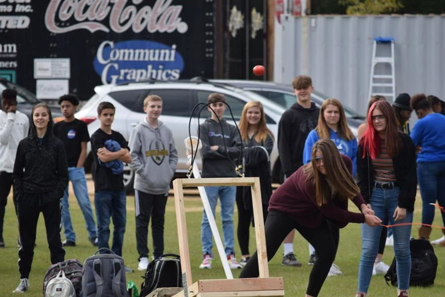 Ready, Aim, Fire: Tomatoes go Flying at NAHS