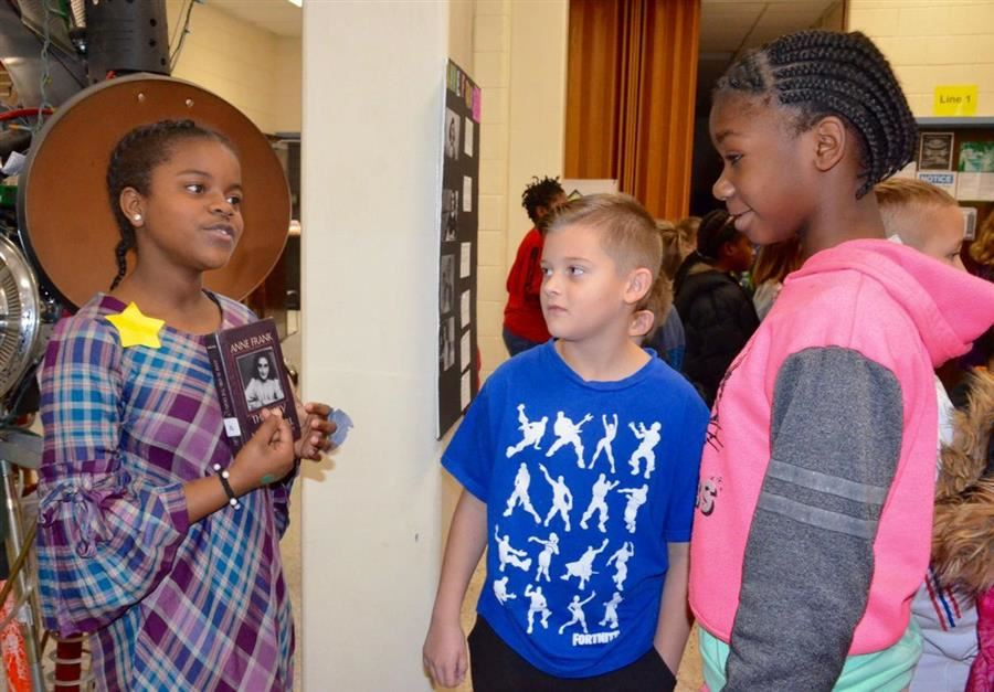 East Aiken School of the Arts Presents Living Wax Museum