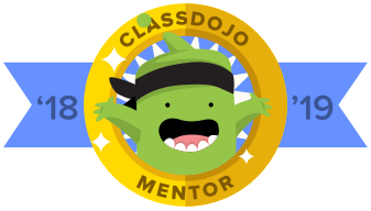 I am our school's Class Dojo mentor teacher!