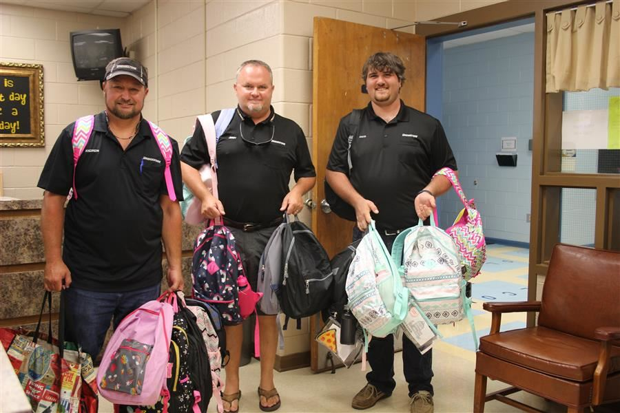 Bridgestone Donates School Supplies