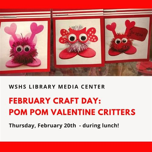 Feb Craft Day Image