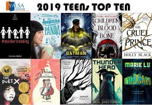 Teens Top Ten Graphic