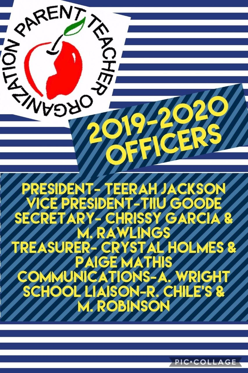 Check out our newly nominated PTO Officers