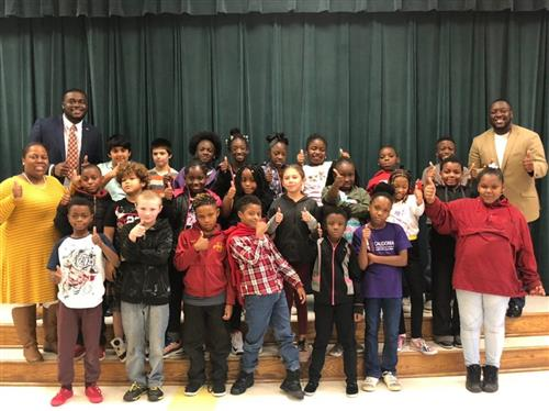 "Dr. Anthony Broughton, ""Mister B"", comes to North Aiken"