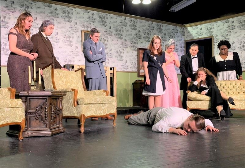 South Aiken High School Drama Club Set to Entertain Audiences this Weekend with Mystery-Comedy 'Barnaby'