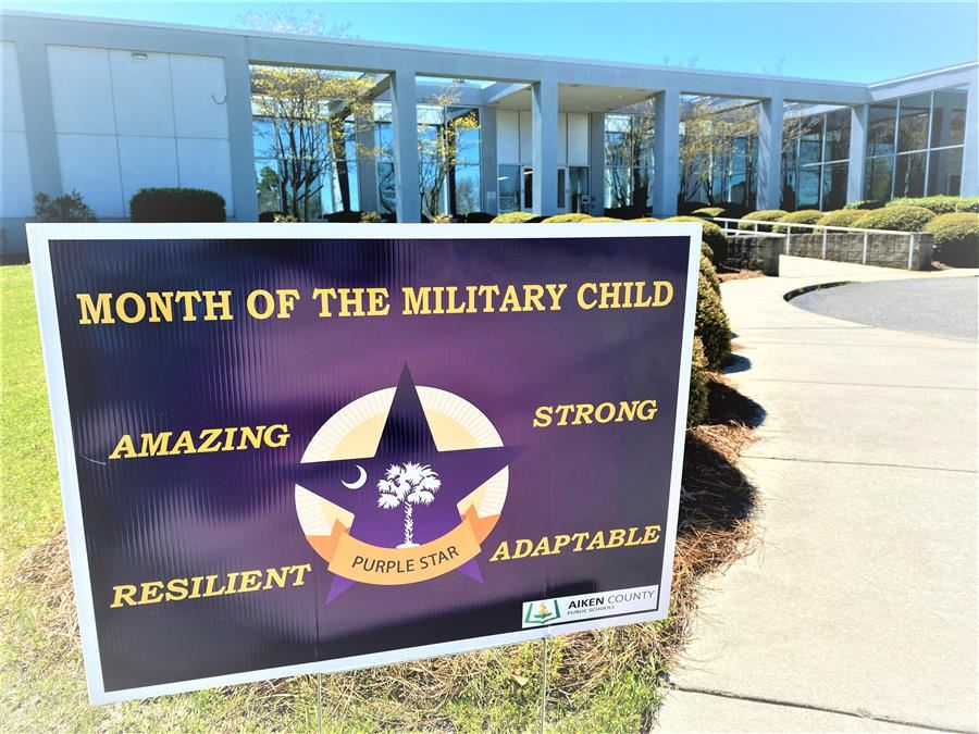 District Celebrates Military-Connected Students and Families in April During Month of the Military