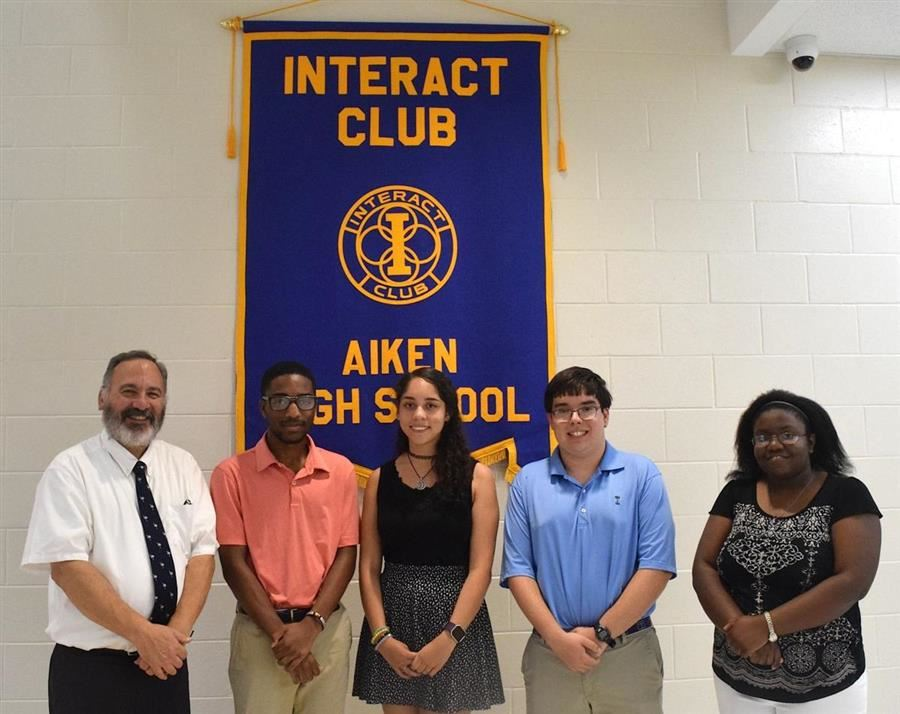 Aiken High Rotary Interact Club inducts new members