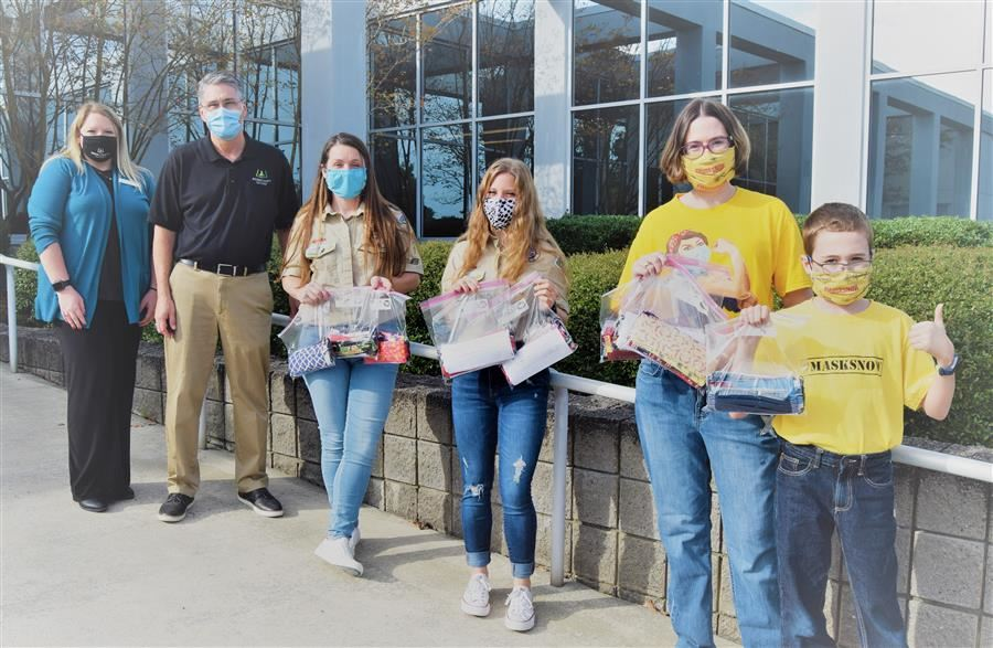 Local Organizations and Community Volunteers Partner in Donation of Masks to Aiken County Public Sc