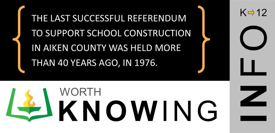 The Last Successful Referendum To Support School Construction In Aiken County Was Held More Than 40
