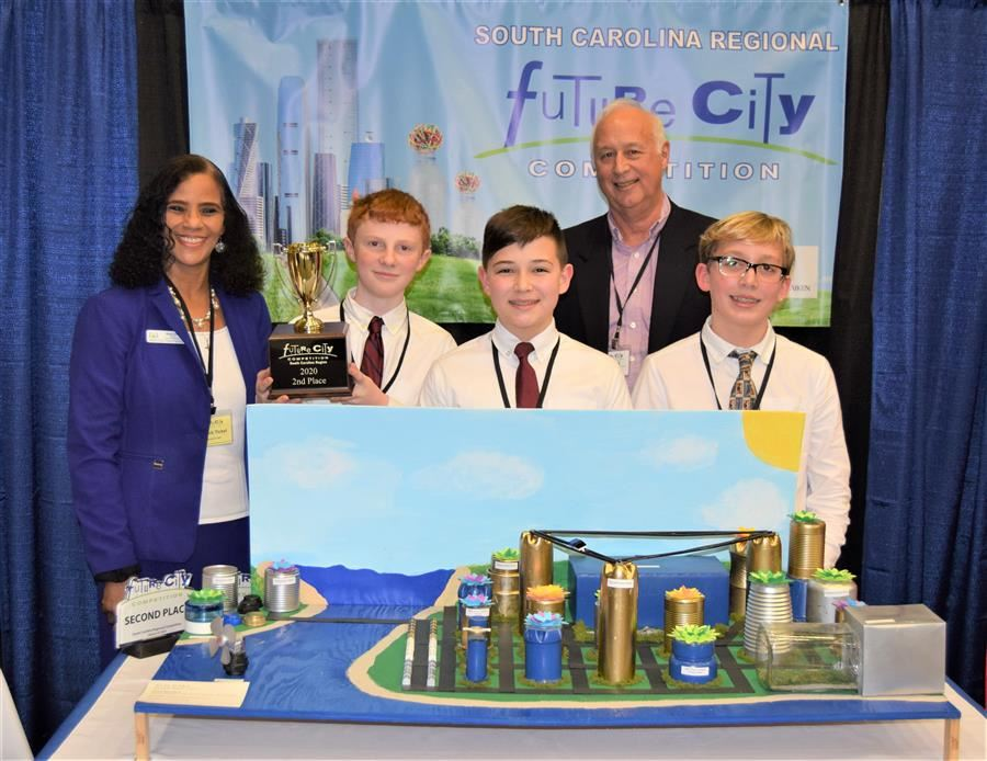 Kennedy Middle Students Claim Multiple Awards During 2020 Regional Future City Competition at USC A