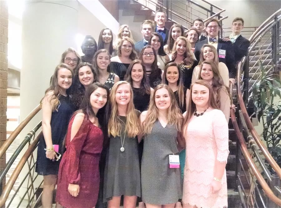 South Aiken High DECA Members