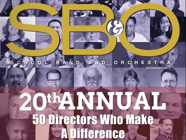 School Band and Orchestra Magazine Cover