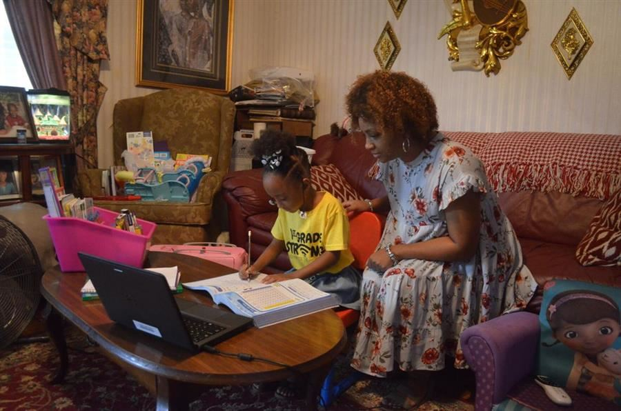 Virtual-Only School Succeeding for Some Aiken Parents