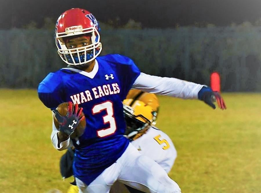 Wagener-Salley Player Pushes for More Yards