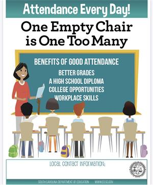 One empty chair