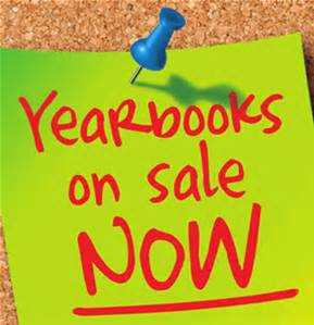 Yearbooks on sale now!  Call school for more information.