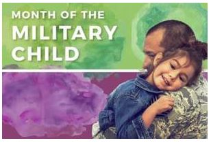 RS-M Elementary will Purple Up For Military Kids Day on April 25th.