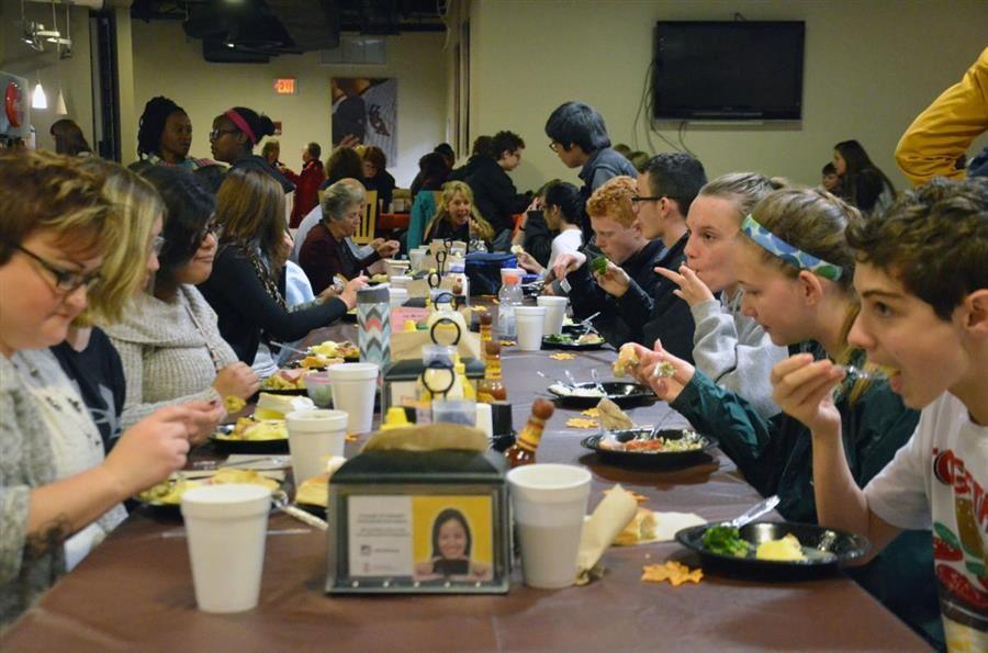 Aiken Scholars Academy, USCA celebrate first Thanksgiving together at One Table