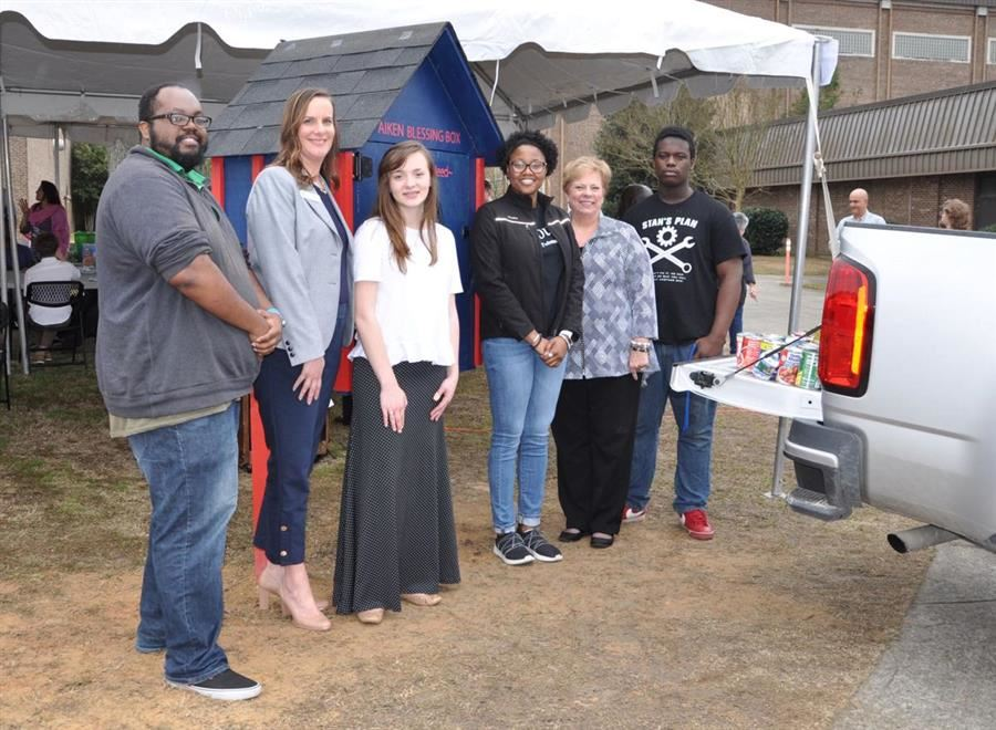 Blessing Box Provides Food for USC Aiken Students