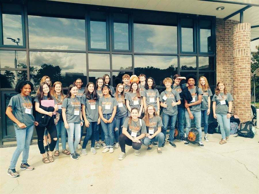 Student Council Participates in Leadership Training