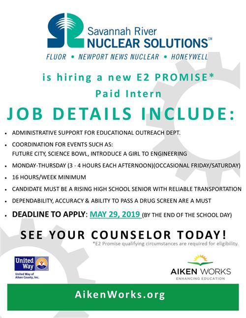 School Counseling / Aiken Works & Work Based Learning