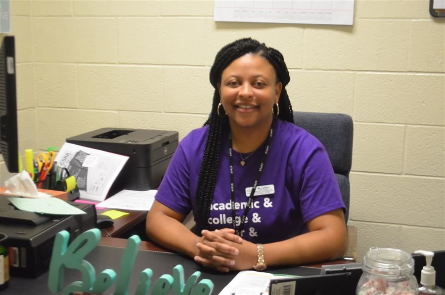 Ms. Brittany Ladson, Aiken Works Counselor
