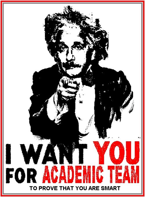 I want you for academic team