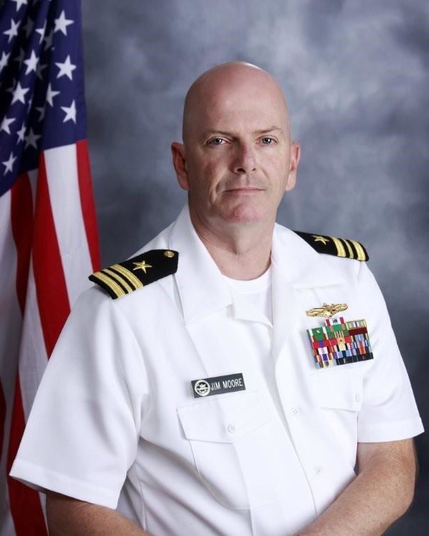 LCDR James Moore