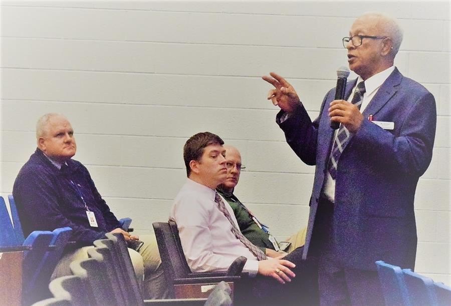 Superintendent Addresses Issue of Perception at Town Hall Meeting
