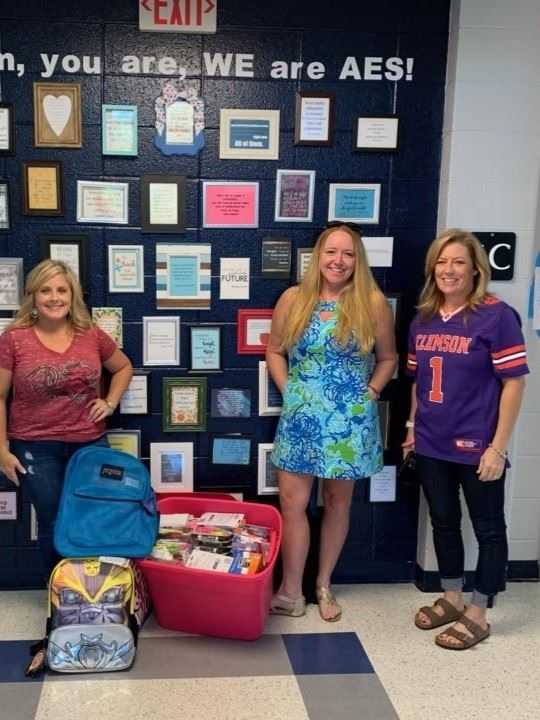 School Supplies Donated!