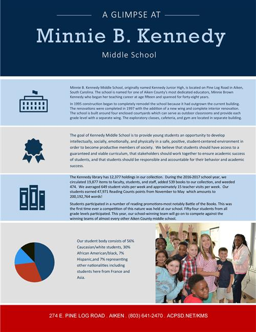 Kennedy at a glance