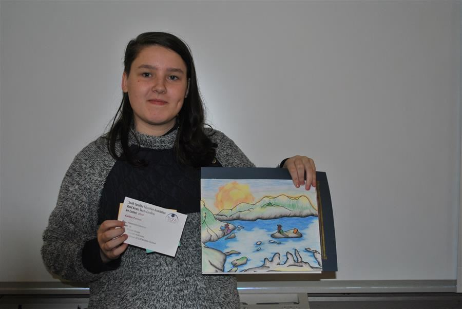 Student Receives Art Recognition
