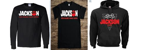 Hoodies and T-shirt examples